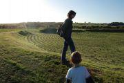 Celtycki krąg na wyspie Mona (Anglesey)